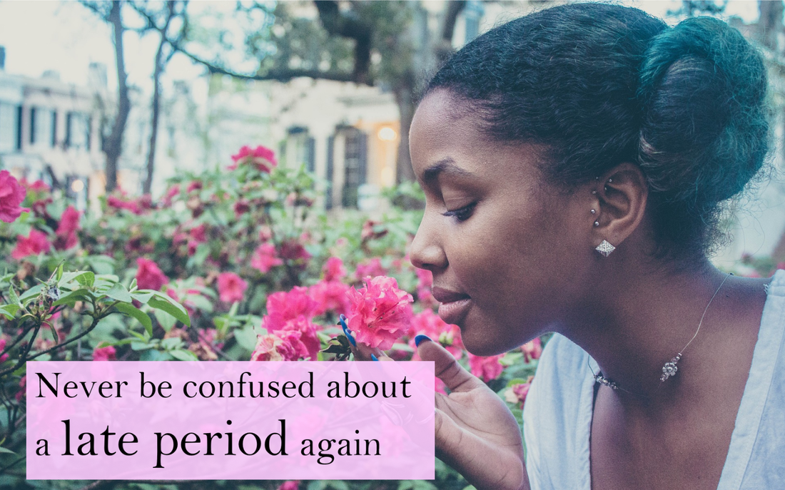 Never be confused about a late period again